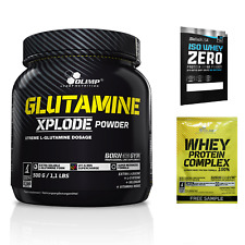 Olimp Glutamine Xplode Powder 500g amino acids, Shipping Worldwide + Bonus