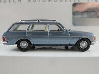 Busch 46841 Mercedes-Benz W 123 T-Modell (1977) in blaumetallic 1:87/H0 NEU/OVP