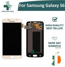 For Samsung Galaxy S6 G920 LCD Display Touch Screen Digitizer Genuine Gold New