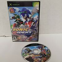 Sonic Riders Microsoft Xbox (2006) Sega Racing Video Game