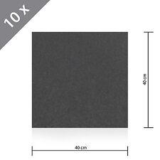 10 - 200 Stück HSM Teppichfliese Nadelfilz Bodenbelag selbstklebend 40cm x 40 cm