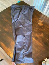 Men's Under Armour Golf Pants Flex Comfort Waist Size 42 x 32 Black