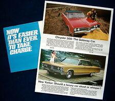 Prospekt brochure 1967 Chrysler Programm Mailer   (USA)