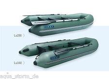 AQUA STORM Schlauchboot Kiel-Motorboot Lucky LU 240 260 290 für Außenborder