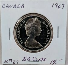 1967 Canada 50 Cent Proof