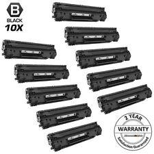 10Pk Black Laser Ink Printer Toner Cartridge for HP CE278A 78A P1566 P1606dn