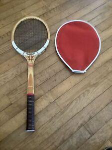 "RARE UNUSED Dunlop Maxply Fort Tennis Racquet Wood Light 4 1/4"""