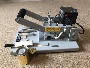Printing Machine, Foilcraft Junior Hot Foil Stamping Machine,  UK Design.