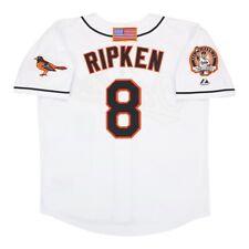 Cal Ripken Jr. 2001 Baltimore Orioles Home White Jersey w/ Patch Men's Large