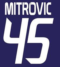 Mitrovic #45 Anderlecht 2013-2014 Home Football Nameset for shirt