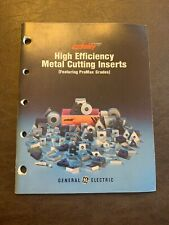 GE Carboloy High Efficiency Metal Cutting Inserts Manual