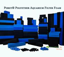 Poret® Polyether Aquarium Bio Sponge sheet Foam Pad Fish Tank Pond CUT TO SIZE