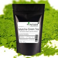 Nutrics® ORGANIC MATCHA GREEN TEA 650mg x 90 Vegan Capsules Powerful Antioxident