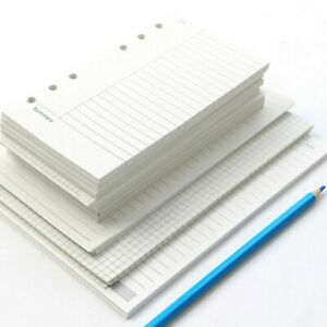 A7 Line Notebook Refill Loose Leaf Inner Page Paper Refill Binder Inside Page