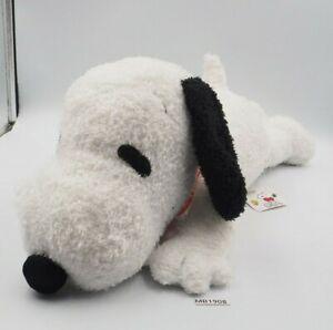"Snoopy Peanuts MB1908 Vien Phu Large Laying 19"" Plush TAG Stuffed Toy Doll"