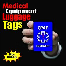 CPAP Medical Equipment Luggage Tag