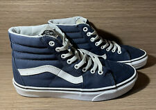 New listing VANS (Men's 7.5 Women's 9) Off The Wall High Top Blue & White Green Skate Shoes
