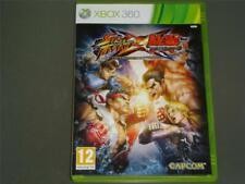 Street Fighter X Tekken Xbox 360 UK PAL ** GRATUITE RU LIVRAISON **
