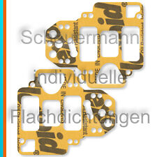 38,40,45 DCO 2xVergaser-Deckel-Dichtung Weber 38,40,42,45,48,50,55 DCOE