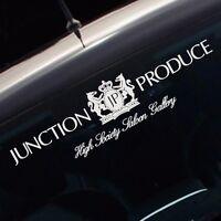 JP Junction Produce Windshield Vinyl Reflective Car Auto Logo Decal Sticker New