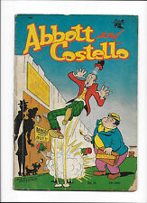 ABBOTT & COSTELLO #14  [1952 GD]  'ATOM BOMB TESTING GROUNDS' COVER!