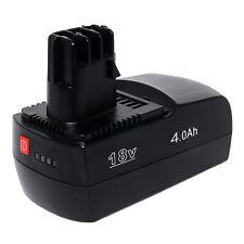 3× Li-ion 18V 4Ah Battery forMETABO 6.25484 BSZ18Impuls Li KSAP18Li powersmart