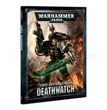 Deathwatch Codex (allemand) Games workshop Warhammer 40k Space Marines 8th