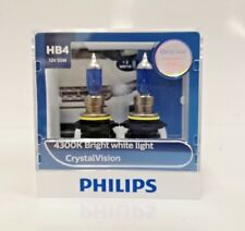 Genuine Philips HB4 Crystal Vision 4300K with Parking Lights