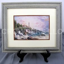 """Clearing Storms"" by Thomas Kinkade 1997 Matted & Framed Art Print 17"" x 14"""
