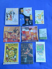1960's~70's Cocktail Bar Guide Mix Drink Booklets - Calvert Drink Encyclopedia