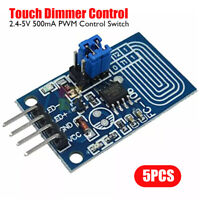5PC Capacitive Touch LED Dimmer PCB Board PWM Control Switch Module 2.4-5V 500mA