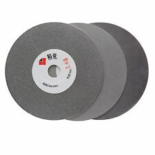 "3Pcs 4"" inch 100 mm Grit 240 400 600 Diamond Flat Lap Disc Grinding Wheels Stone"