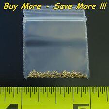 .140 Gram Natural Raw Alaskan Placer Gold Dust Fines Nugget Flake Paydirt Alaska