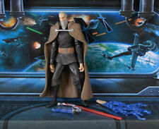 Star Wars figura animada Clone Wars Conde Dooku