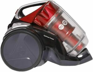 Hoover KS51OP20 Optimum Power Bagless Pets Cylinder Vacuum Cleaner, Black/Red