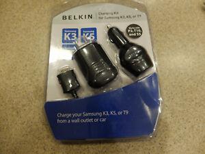 Belkin Charging Kit for Samsung K3, K5, or T9