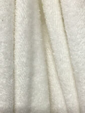Terry Double Loop Bamboo Organic Cotton knit Fabric Natural undyed 300 gsm