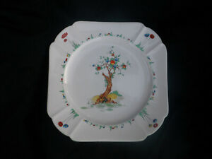 Shelley CRABTREE. Dinner plate.Diameter 9½ inches.Queen Anne shape.