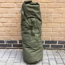 1 GOOD USED UNIVERSAL BRITISH ARMY KIT BAG OLIVE GREEN CANVAS [32014]
