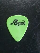 Poison Bobby Dall Guitar Pick Make An Offer!