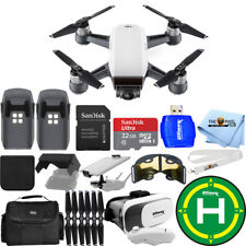 DJI Spark Quadcopter 2 BATTERY EXTREME ALL YOU NEED PRO BUNDLE!! BRAND NEW!!