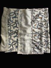 Kashmiri? Handmade Pashmina Wool Cashmere Reversible Floral Embroidered Shawl
