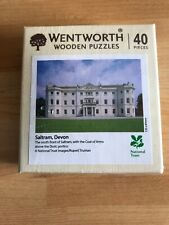 Wentworth Wooden 40 Piece Puzzle Saltram, Devon New