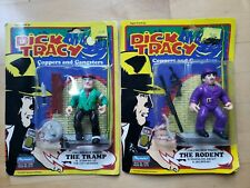 1990 Playmates Dick Tracy Copper & Gangsters The Rodent & Tramp Action Figures