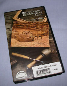 Relief Carving in a Different Light VHS Video Tape by David Bennett 1991 87 min