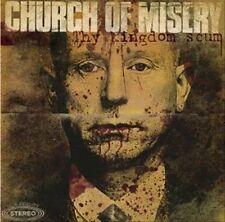 CHURCH OF MISERY Thy Kingdom Scum 2X LP BLUE VINYL ETCHED
