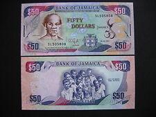 JAMAICA  50 Dollars 06.08.2012 Commemorative Issue  (P89)  UNC