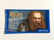 Lord Of The Rings - Bassett / Barratt Trading Cards - Gimli - Cigarette Cards