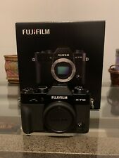 Fujifilm x-t10 Mirrorless Digital Camera. Very Light Use Fuji X-t10