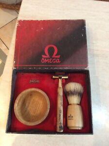 Rarissimo set da barba anni 60 omega vintage in scatola originale da collezione